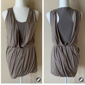 Club Monaco drapey goddess inspired dress #1502
